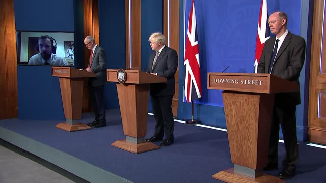 downing street press conference july 5th 2021: cutaways; england: london: westminster: downing street: int cutaways of boris johnson mp speaking sot... - simplicity stock videos & royalty-free footage