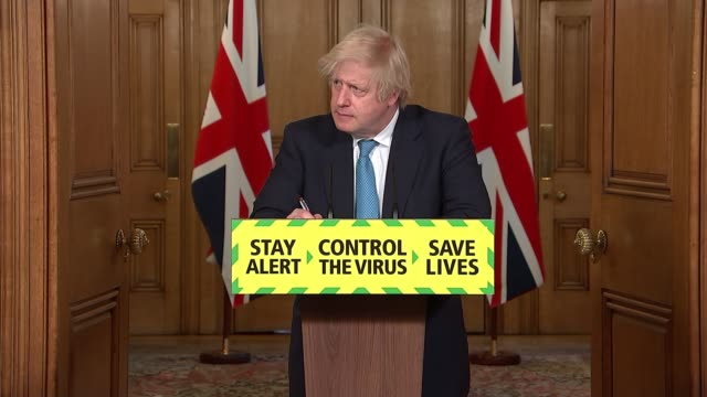 downing street press conference june 16th england london westminster downing street 10 downing street int press conference part 5 of 9 boris johnson... - meal stock videos & royalty-free footage