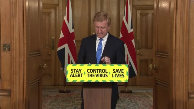 downing street press conference june 17th england london westminster downing street int press conference part 2 of 8 oliver dowden mp statement sot... - sports period stock videos & royalty-free footage