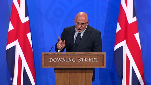 downing street press conference june 23rd 2021; england: london: westminster: downing street: int nadhim zahawi mp , dr nikki kanani and dr mary... - 18 23 months stock videos & royalty-free footage