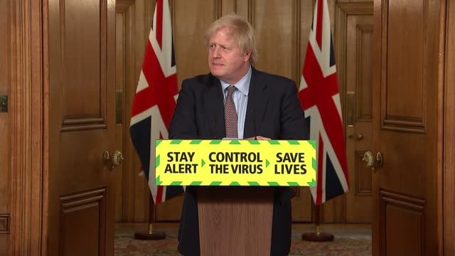 downing street press conference june 3rd; england: london: westminster: downing street: int boris johnson mp , professor chris whitty and sir patrick... - prime minister's questions stock videos & royalty-free footage