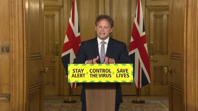 downing street press conference june 4th england london westminster downing street grant shapps press conference sot our history shows us how quickly... - war and conflict stock videos & royalty-free footage