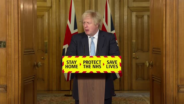 downing street press conference march 18th 2021; press conference part 3 of 7 england: london: westminster: downing street: int boris johnson mp ,... - global business stock videos & royalty-free footage