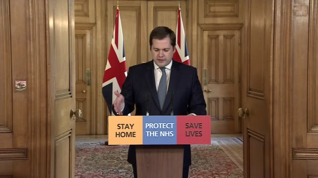 downing street press conference march 29th; england: london: westminster: downing street: number 10: int downing street press conference part 2 of 9... - conference phone stock videos & royalty-free footage