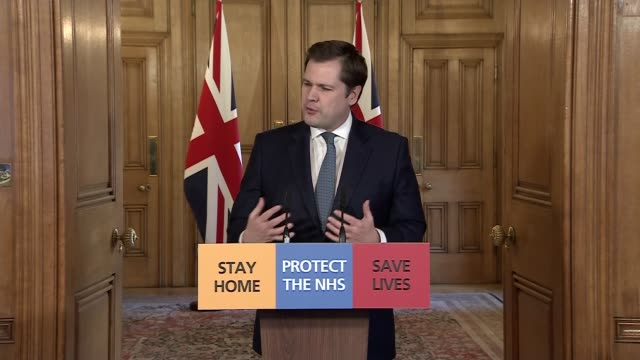 downing street press conference march 29th england london westminster downing street number 10 int downing street press conference part 7 of 9 robert... - hold me tight stock videos & royalty-free footage