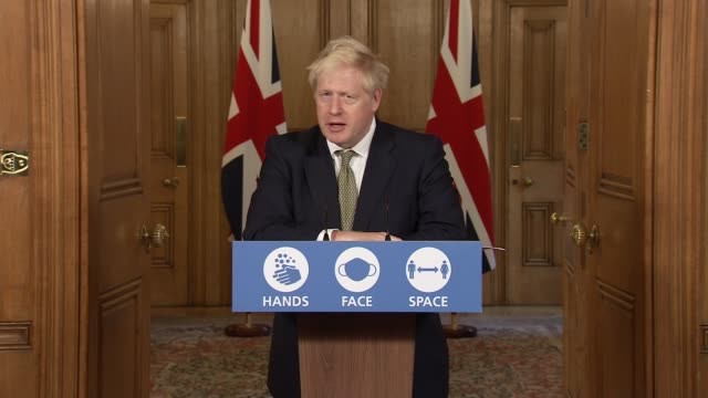 downing street press conference october 22nd; england: london: westminster: downing street: int press conference part 7 of 11 boris johnson mp ,... - self improvement stock videos & royalty-free footage
