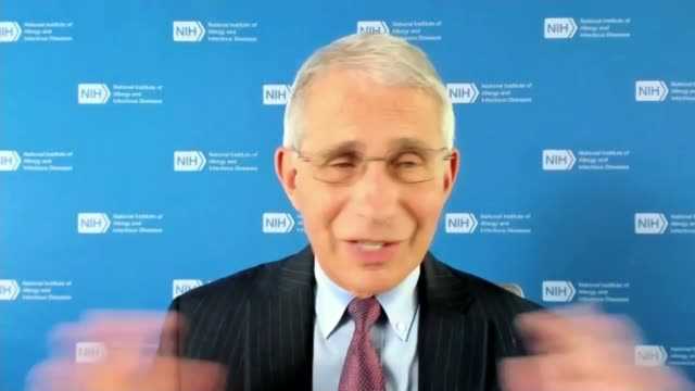 dr anthony fauci interview; usa: maryland: bethesda: national institute of allergy and infectious diseases: int dr anthony fauci interview sot. -... - illness stock videos & royalty-free footage