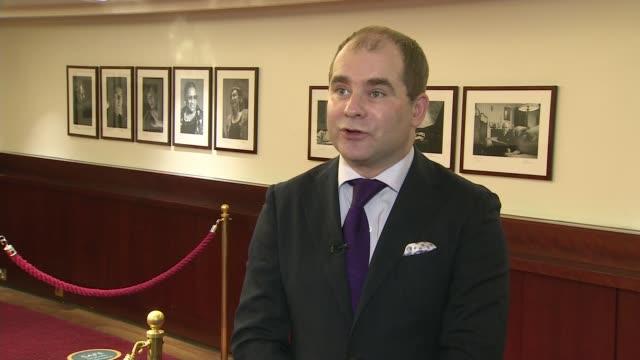 english arts organisations handed 250 million covid fund england london wigmore hall int john gilhooy interview sot - itv london tonight stock videos & royalty-free footage