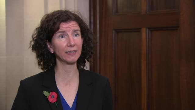 everyone in liverpool to be tested for covid-19 in pilot scheme; england: london: int anneliese dodds mp set-up shot with reporter and interview sot... - gripping stock videos & royalty-free footage