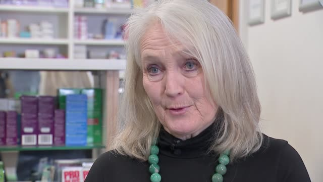 experts alarmed by speed of transmission as number of cases in china surpasses sars; england: london: int prof sian griffiths interview sot - sudden acute respiratory syndrome stock videos & royalty-free footage