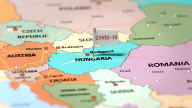 vídeos y material grabado en eventos de stock de bandera del coronavirus en hungría - cultura húngara