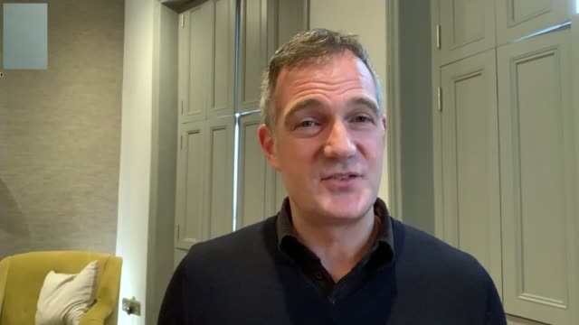 fourth uk patient treated as final repatriation flight arrives england east sussex brighton int peter kyle mp interview via the internet sot - east sussex stock videos & royalty-free footage