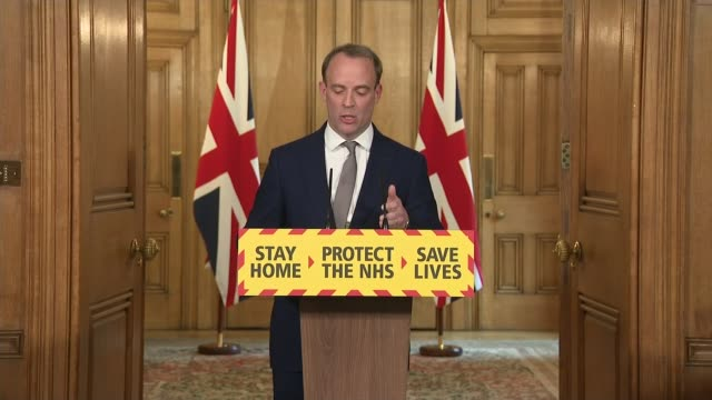 government extends lockdown for three weeks england london westminster downing street int sir patrick vallance professor chris whitty and dominic... - mountain peak stock videos & royalty-free footage