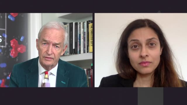 government faces pressure over testing; england: london: gir: int professor devi sridhar 2-way interview via internet sot - the internet stock videos & royalty-free footage