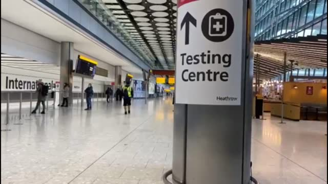 government outlines new travel quarantine rules; england: london: heathrow airport: int various of airline passengers wheeling their luggage through... - quarantine stock videos & royalty-free footage