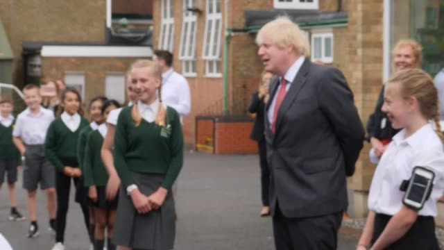 government plans for all children to be back at school full-time by september; england: hertfordshire: hemel hempstead: bovingdon primary academy:... - washing stock videos & royalty-free footage