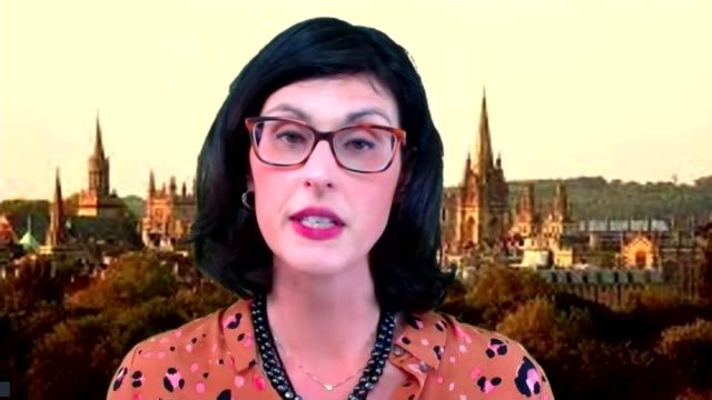 government promoting fitness and weight loss as a way to protect against coronavirus england london gir int layla moran mp 2way interview via... - キャシー・ニューマン点の映像素材/bロール