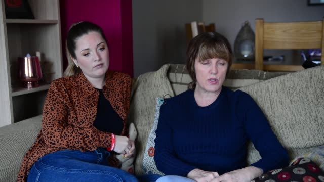 government releases thousands of lowrisk prisoners in effort to slow virus location sally henry and charlotte henry interview sot - crime and murder stock-videos und b-roll-filmmaterial