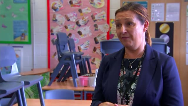 government uturn on free school meal vouchers over summer holidays england manchester int lisa vyas setup shot and interview sot side view lisa... - map stock videos & royalty-free footage