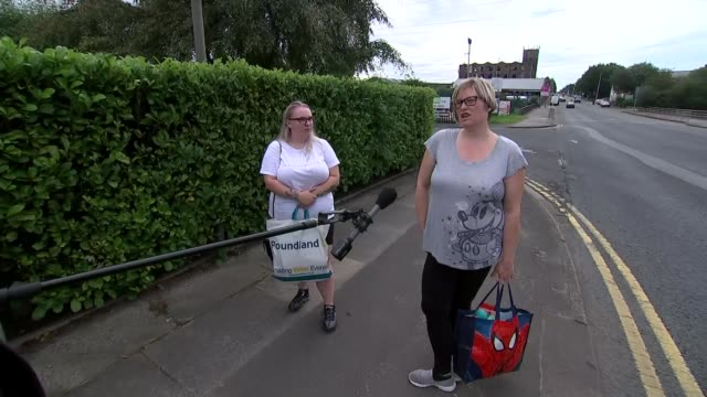 government uturn on the easing of lockdown restrictions in bolton and trafford england greater manchester ext various of traffic crossing bridge over... - postal worker stock videos & royalty-free footage