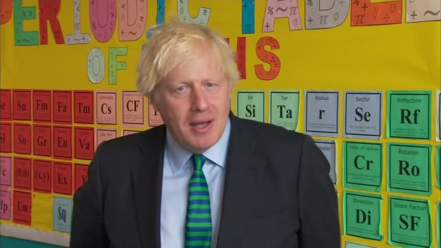 government u-turns on face coverings in english secondary schools; england: leicestershire: coalville: castle rock high school: int boris johnson mp... - teaching stock videos & royalty-free footage
