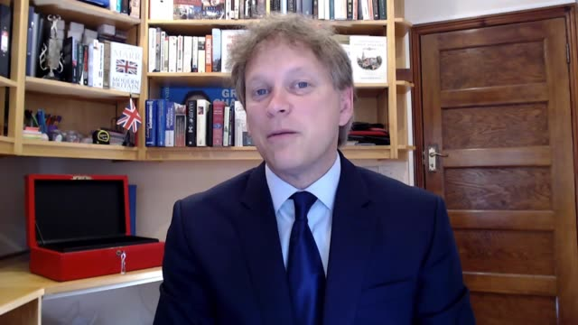 grant shapps interview england int grant shapps mp interview via internet sot bridges we have been really careful and cautious about bringing in the... - hobbies stock videos & royalty-free footage