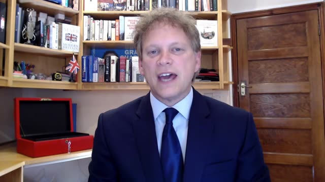 grant shapps interview; england: int grant shapps mp interview via internet sot. about people adhering to the rules - - i think most people have been... - addition key stock videos & royalty-free footage