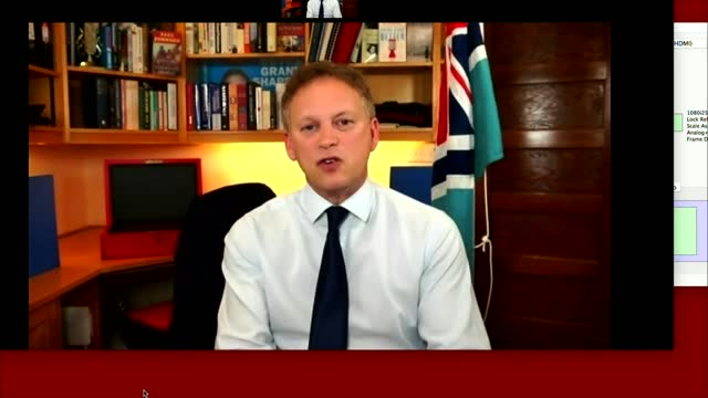 grant shapps interview; england: london: int grant shapps mp interview via internet sot. - yes i've just finished chairing a cobra meeting on the... - reptile stock videos & royalty-free footage