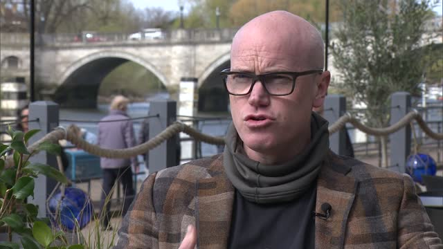 group of mps criticise 'divisive and discriminatory' covid passports; uk, london, richmond; buskers performing, boats on river thames, people along,... - typing stock videos & royalty-free footage