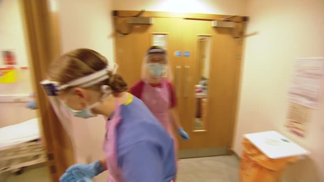 stockvideo's en b-roll-footage met hospitals in scotland using new knowledge to prepare for second wave scotland north lanarkshire airdrie university hospital monklands int sean... - new not politics