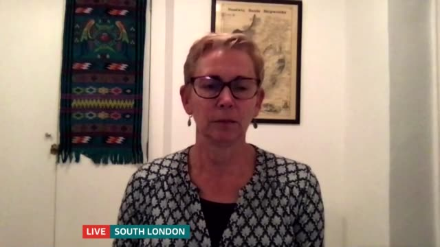 imperial college london find evidence suggesting immunity against virus reduces over time; england: london: gir / south london: int professor helen... - itv london tonight stock-videos und b-roll-filmmaterial