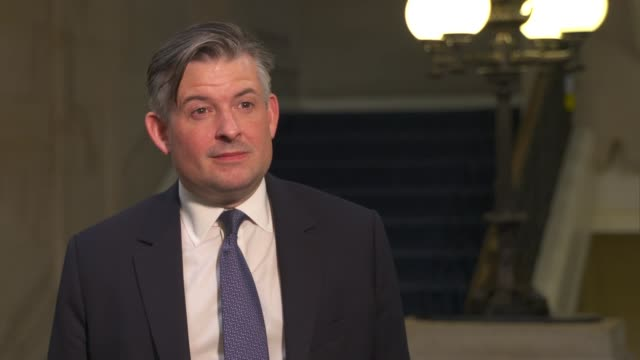 jon ashworth interview england london int jon ashworth mp interview sot gvnt perilous moment labour will always do in national interest support... - outsourcing video stock e b–roll