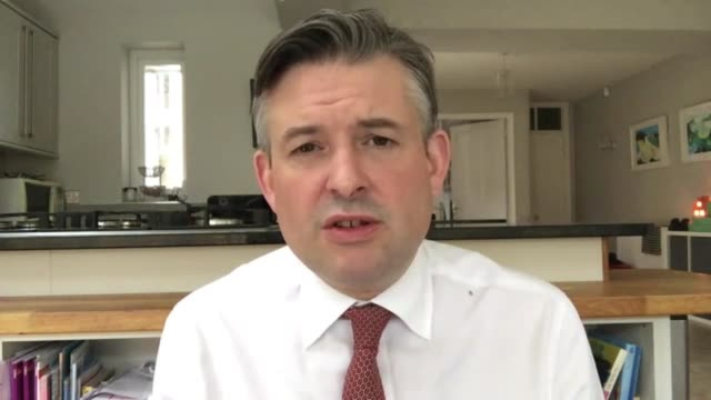 jonathan ashworth interview; england: int jonathan ashworth mp interview via internet sot. - look these things have to be based on scientific advice.... - social history stock videos & royalty-free footage