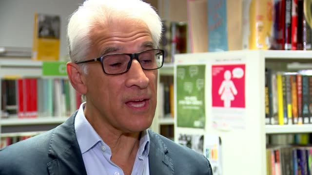 labour calling for next year's a-level and gcse exams to be delayed; england: london: bishop's: oasis academy south bank: int steve chalke interview... - general certificate of secondary education stock videos & royalty-free footage