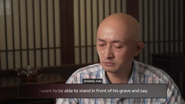 leaked documents show china took two weeks to admit virus could be passed between people; china: int zhang hai interview sot ext people dancing to... - hai river stock videos & royalty-free footage