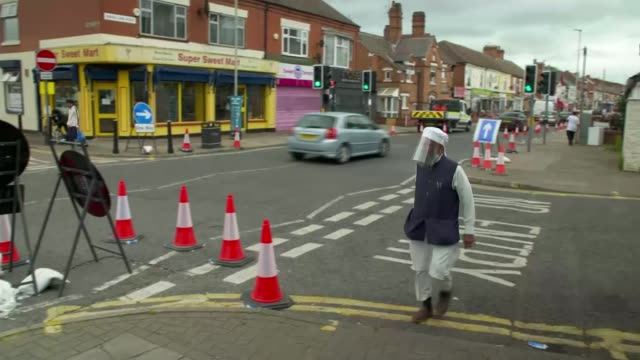 leicester faces local lockdown amid covid19 surge england leicestershire leicester ext ahmed kasu interview sot asian family along street man along... - leicester stock videos & royalty-free footage