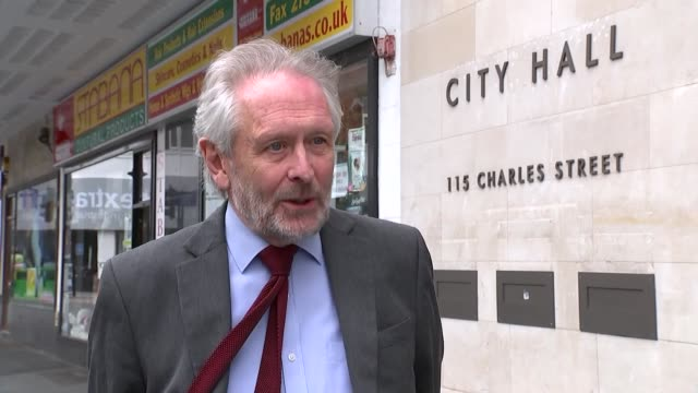 leicester faces local lockdown: sir peter soulsby interview; england: leicester: ext sir peter soulsby interview sot - on phe report and why phe... - arms raised stock videos & royalty-free footage