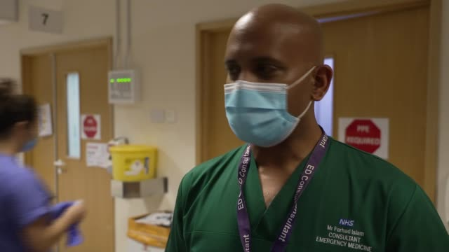 life of a junior doctor at royal bournemouth hospital during the coronavirus pandemic england dorset bournemouth dr mike olivier cycling to work... - telephone stock videos & royalty-free footage