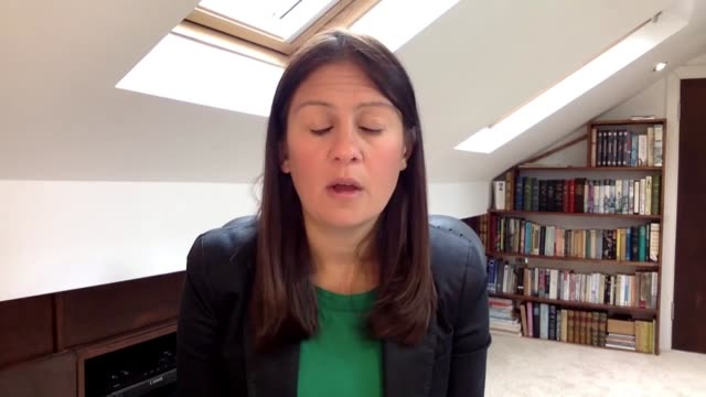 lisa nandy interview england int lisa nandy mp interview via internet sot it's been a complete shambles this week wrong message about social... - deep stock videos & royalty-free footage