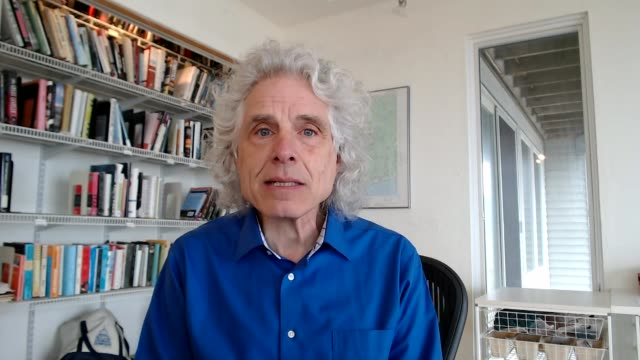 lockdown experiences in hebden bridge usa massachusetts boston int steven pinker interview via internet sot england london gir / usa massachusetts... - massachusetts stock videos & royalty-free footage