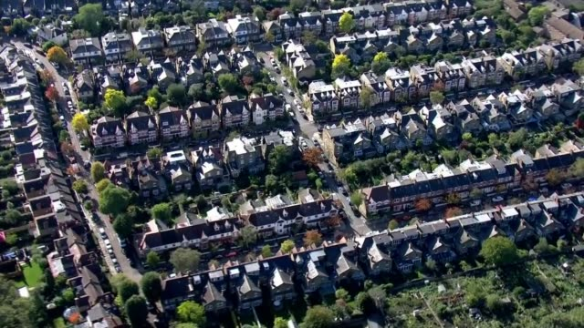 london essex and york among areas to move up to 'high alert' tier 2 restrictions england london streets of houses - itv london tonight stock videos & royalty-free footage