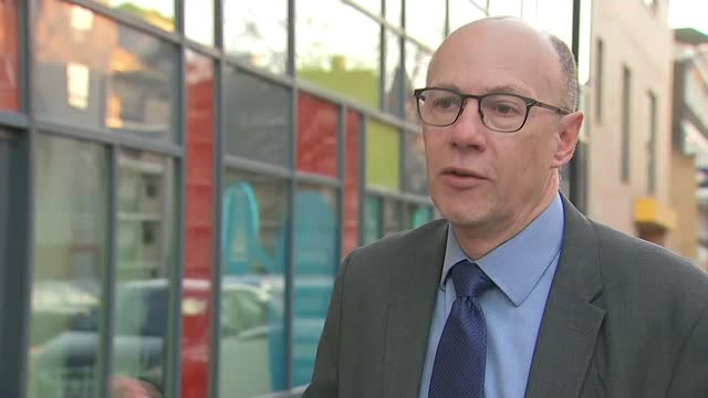 london lagging behind other regions for numbers of vaccinations; england: london: ext professor stephen powis interview excerpt sot - nhs colleagues... - itv london lunchtime news stock videos & royalty-free footage