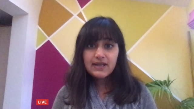 london mps disagree on proposed lockdown measures for the capital england cambridgeshire cambridge int dr deepti gurdasani live interview via... - itv london tonight stock videos & royalty-free footage