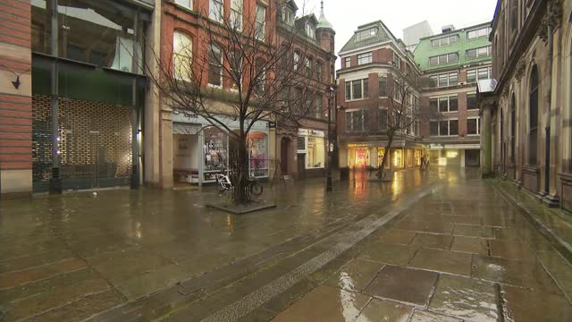 manchester businesses hoping to enter tier 2 as london enters tier 3; england: manchester: moviescape: int gvs christmas decorations in boxes in... - tinsel stock videos & royalty-free footage
