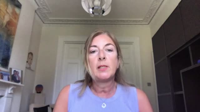 stockvideo's en b-roll-footage met matt hancock announces new antibody testing and trial of 20 minute infection test england london gir int dr claudia paolini seen on screen of laptop... - new not politics