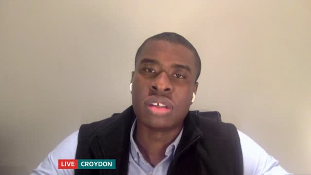 medical student releases new podcast series highlighting racial inequalities in healthcare; england: london: gir / croydon: int ivan beckley live... - news not politics video stock e b–roll