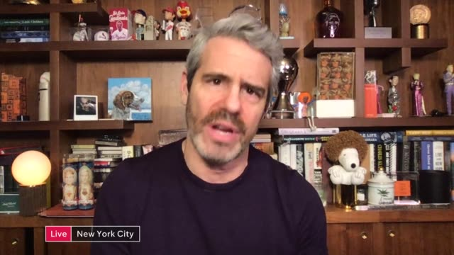 members of the lgbtq say they suffer discrimination during the cocvid-19 outbreak; usa: new york: new york city: int andy cohen live interview via... - new york stock videos & royalty-free footage
