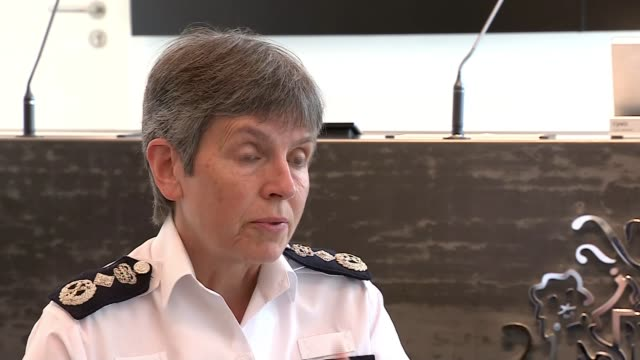 met police commissioner vows to shut down illegal parties in london england london ext cressida dick interview sot we will be prepared this weekend... - cressida dick stock videos & royalty-free footage