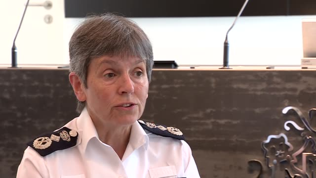 metropolitan police commissioner interview re illegal parties england london int dame cressida dick interview sot re policing large parties as... - cressida dick stock videos & royalty-free footage
