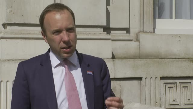 new 90minute tests to be rolled out next week england london westminster ext matt hancock mp interview sot - itv news at ten stock videos & royalty-free footage